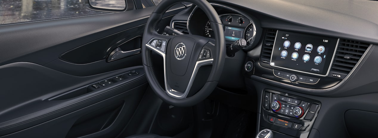 2018 Encore compact luxury SUV interior.