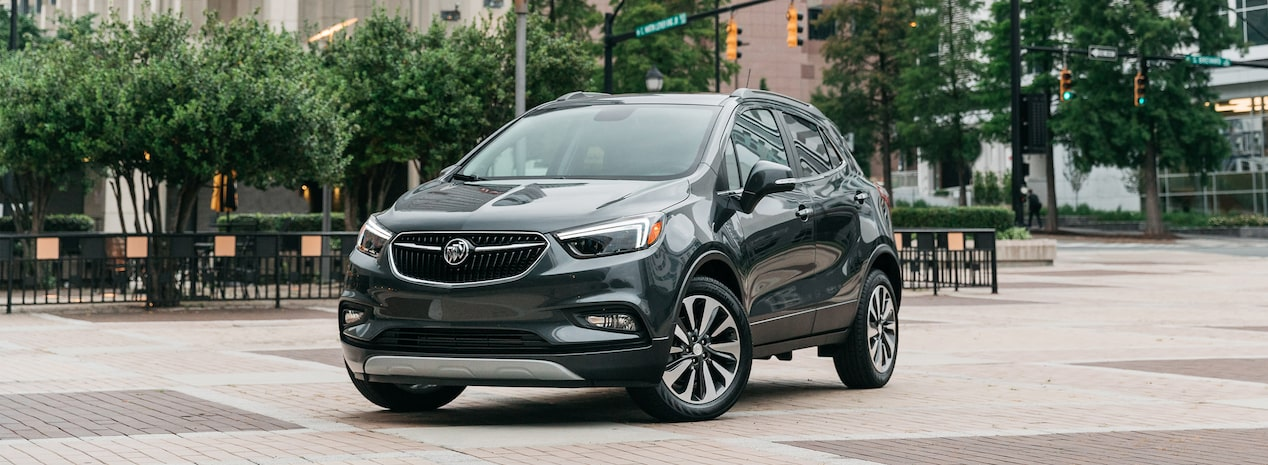 2018 Encore compact luxury SUV.