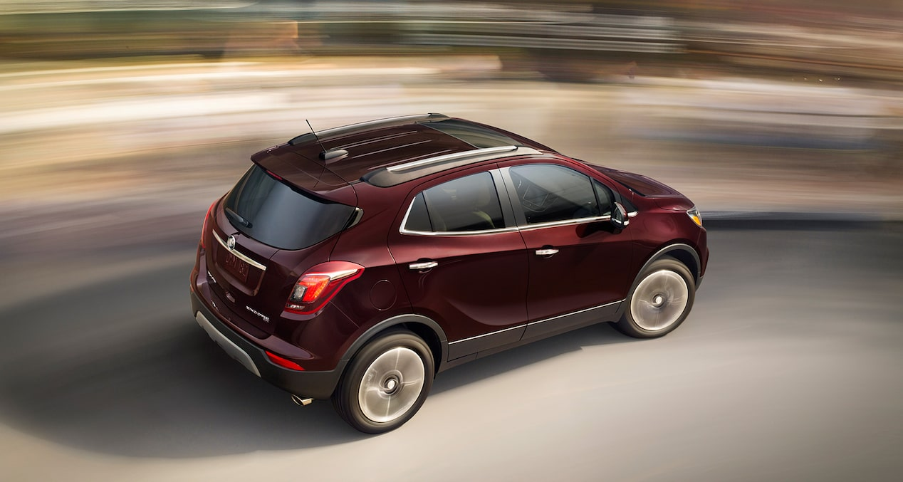 Performance features of the 2018 Encore compact SUV.
