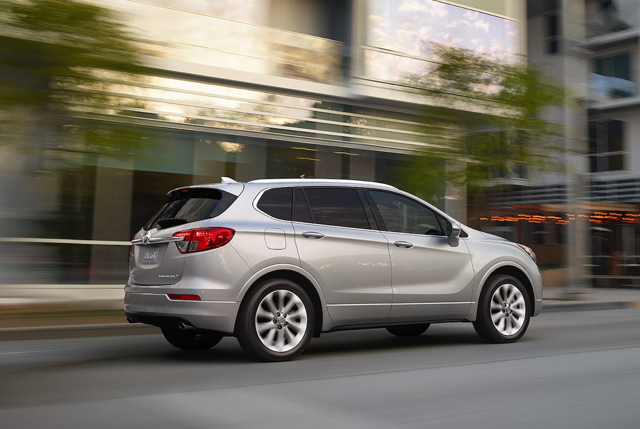 2018 Envision small luxury SUV performance ride and handling.