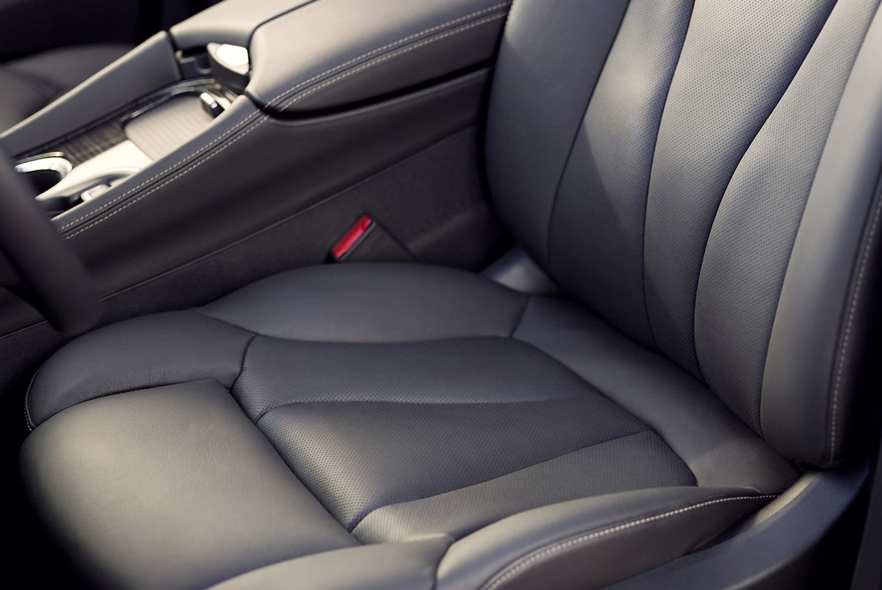 2018 Envision small luxury SUV safety alert seat.