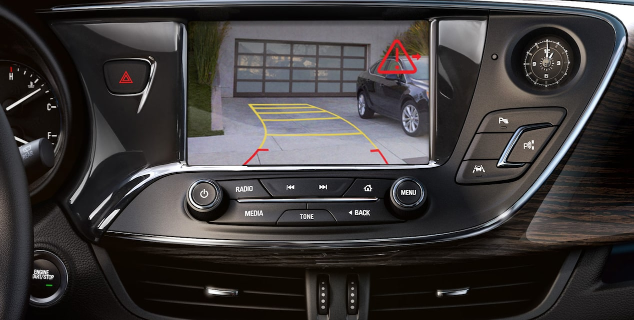 2018 Envision small luxury SUV rear vision.