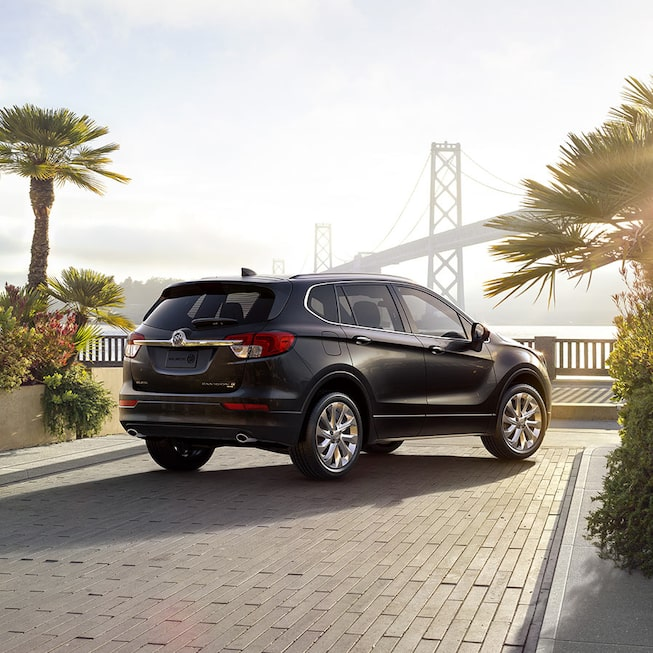 Buick Suv Small: Interior, Exterior & Videos: 2018 Envision SUV