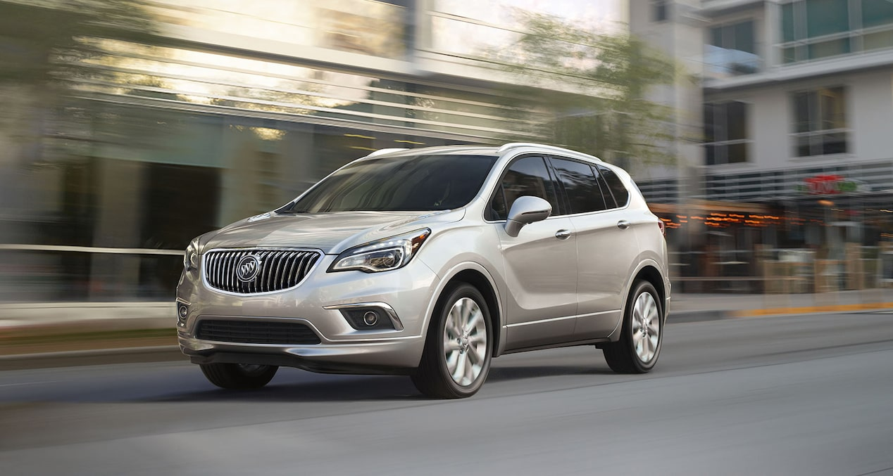 2018 Buick Envision small luxury SUV engine.