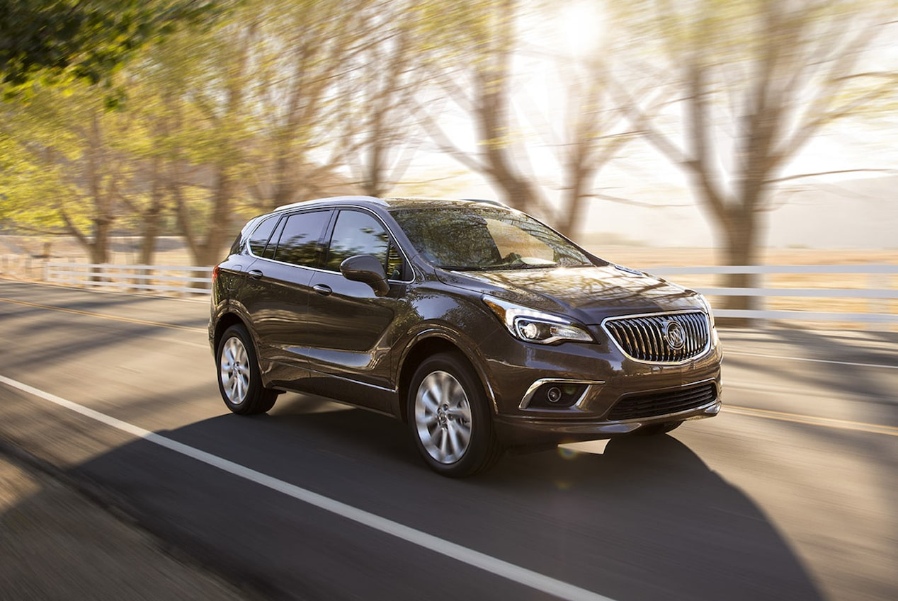 2018 buick envision small luxury suv buick. Black Bedroom Furniture Sets. Home Design Ideas