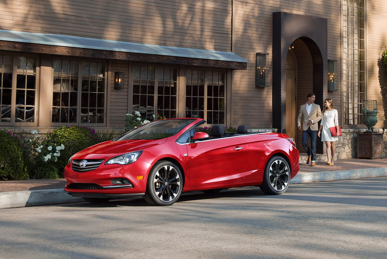 Image showing exterior features of the 2019 Buick Cascada luxury convertible.