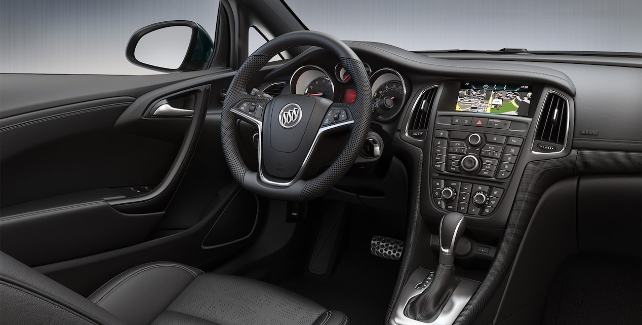 Image showing interior features of the 2019 Buick Cascada luxury convertible.