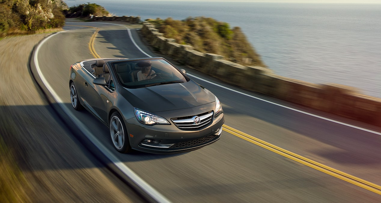 Image showing performance features of the 2019 Buick Cascada luxury convertible.
