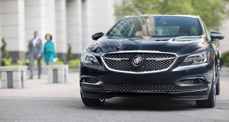 Image showing key features for the 2019 Buick LaCrosse Avenir full-size luxury sedan.