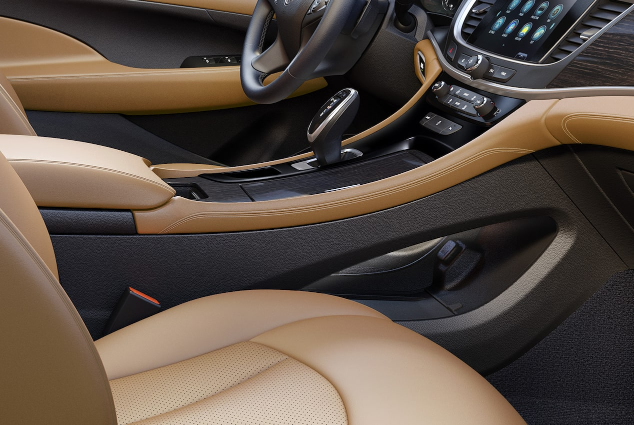 Image showing interior features of the 2019 Buick LaCrosse full-size luxury sedan.
