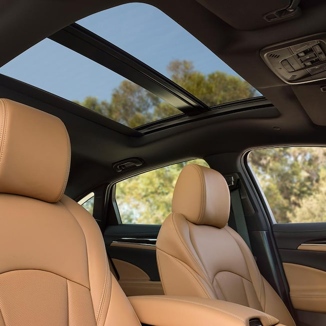 Interior gallery image of the 2019 Buick LaCrosse full-size luxury sedan.