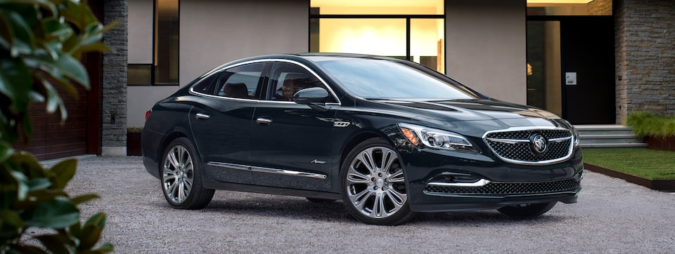 Preview image of the 2019 Buick LaCrosse Avenir full-size luxury sedan.