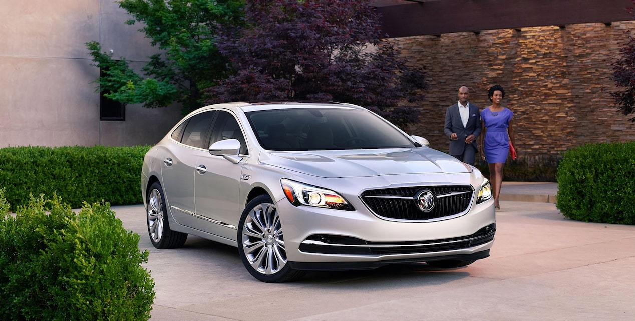 Click to view offers for of the 2019 Buick LaCrosse full-size luxury sedan.