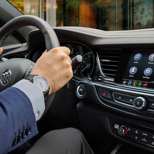 2019 Regal Avenir Luxury Sedan Interior Photo: steering wheel
