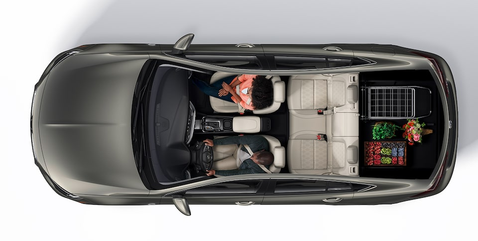 2019 Buick Regal Avenir Interior Seating and Cargo Space: Groceries