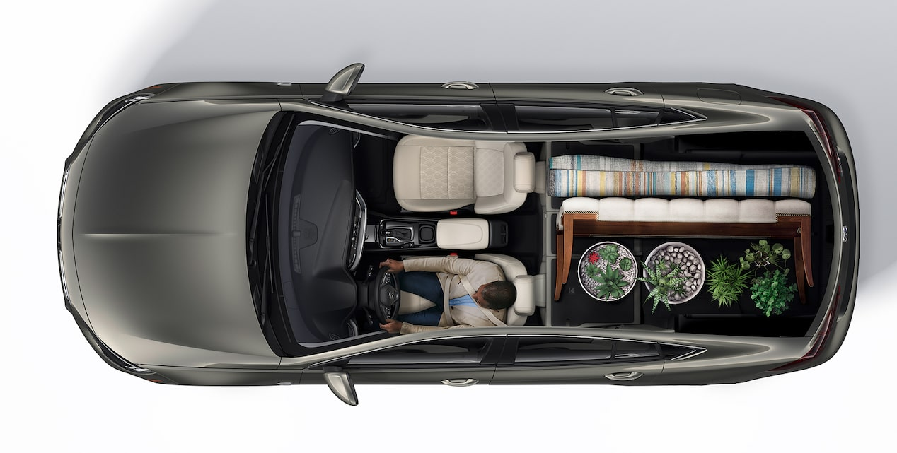2019 Buick Regal Avenir Interior Seating and Cargo Space: Plants