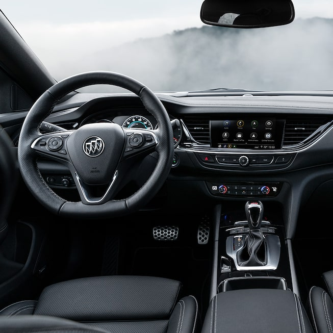 2019 Regal GS Luxury Sedan Dashboard