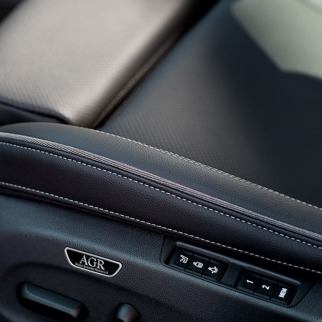 2019 Regal GS Luxury Sedan Seat Controls