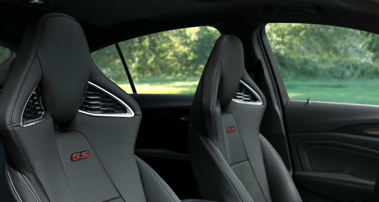 2019 Regal GS Luxury Sedan Interior Seats