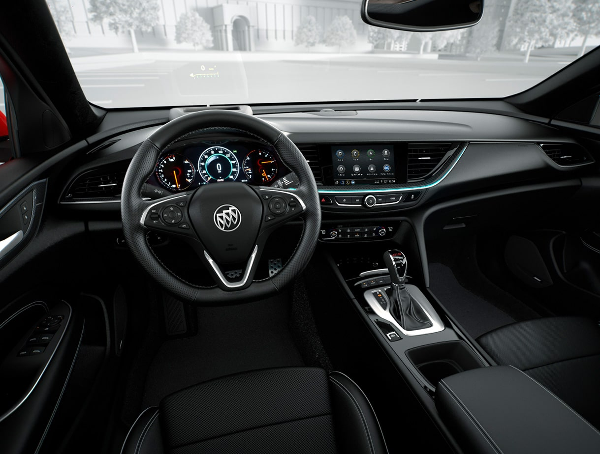 2019 Regal GS Luxury Sedan Interior Driver Seat