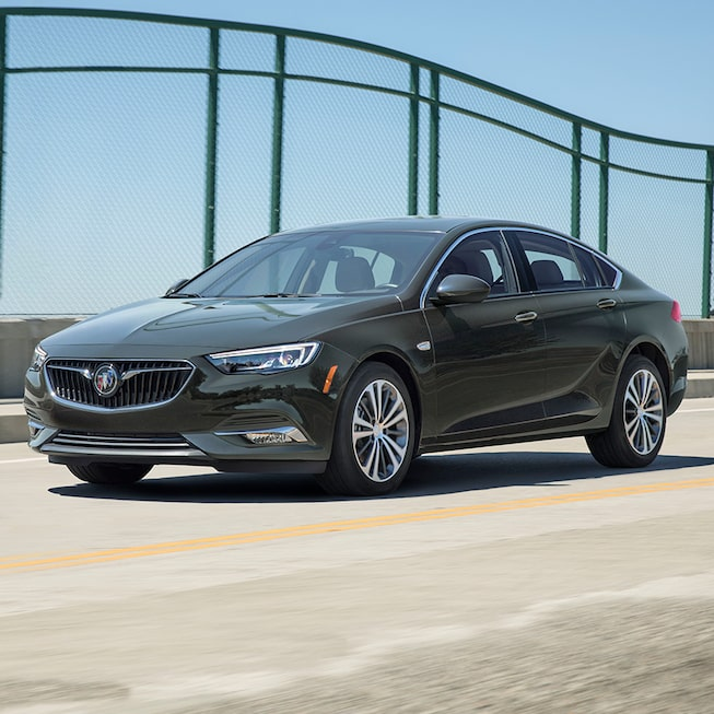 2019 Regal Sportback Mid-size Luxury Sedan Exterior