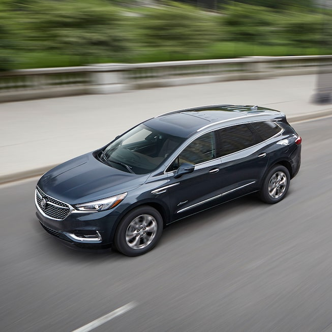 Exterior gallery image of the 2019 Buick Enclave Avenir mid-size luxury SUV.