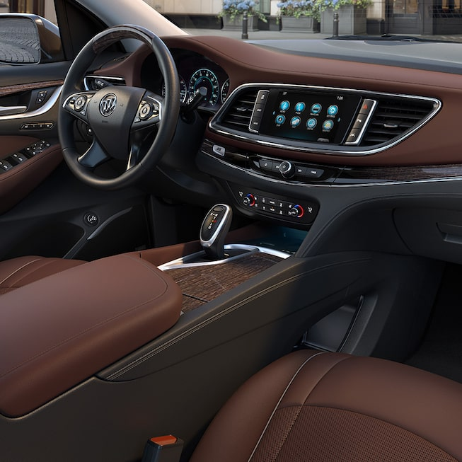 Interior gallery image of the 2019 Buick Enclave Avenir mid-size luxury SUV.