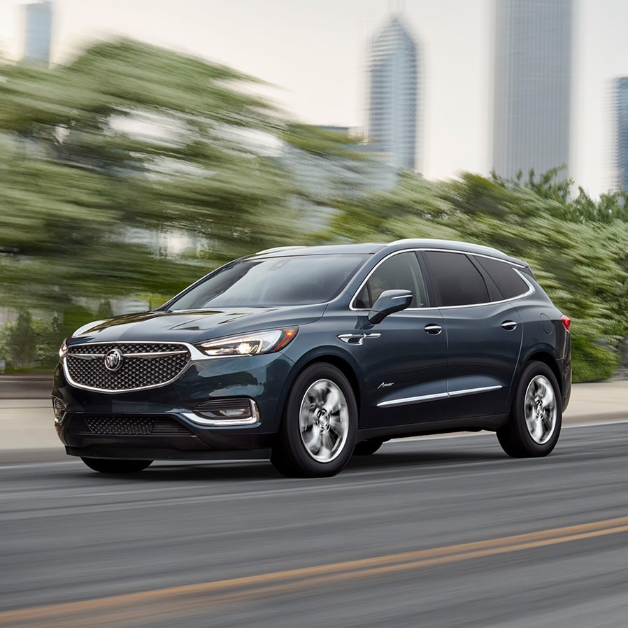 Image Showing Key Features Of The 2019 Buick Enclave Avenir Mid Size Luxury Suv