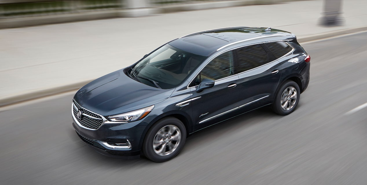 Image for offer on the 2019 Buick Enclave Avenir mid-size luxury SUV.