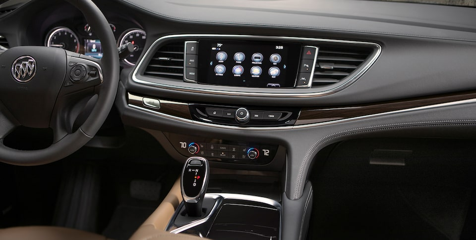 Image showing connectivity features of the 2019 Buick Enclave mid-size SUV.
