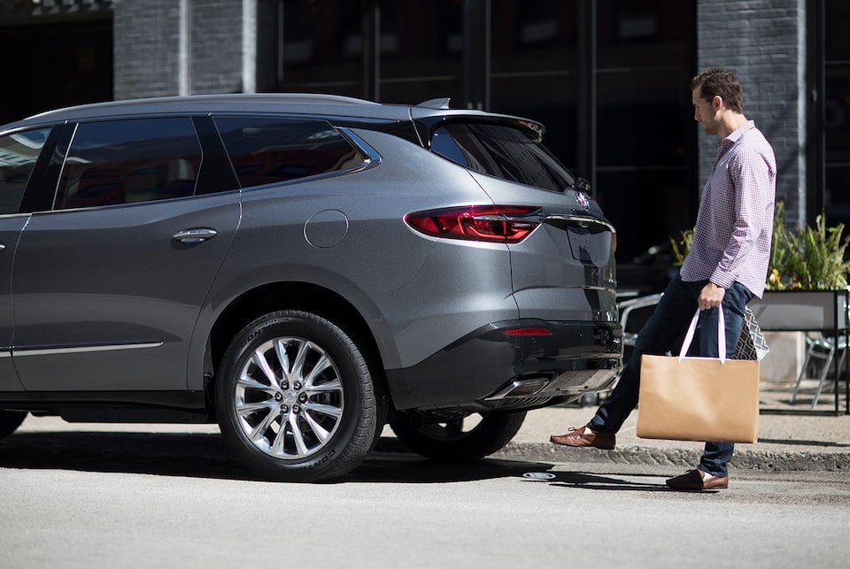 Image showing exterior features of the 2019 Buick Enclave mid-size SUV.