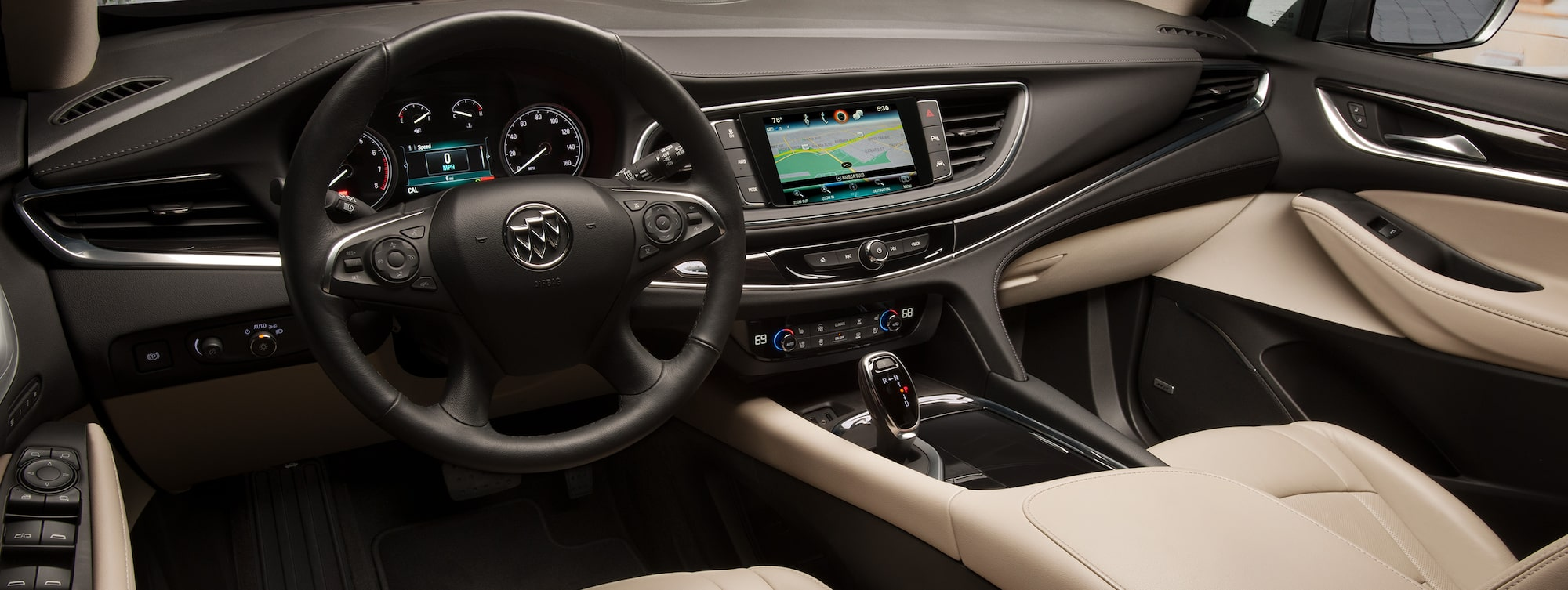 Masthead Image For The Interior Features Page Showing The 2019 Buick Enclave  Mid Size SUV Images
