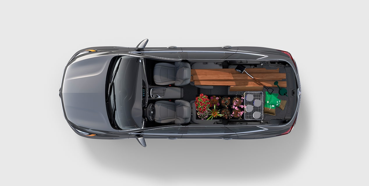 Image showing interior features of the 2019 Buick Enclave mid-size SUV.