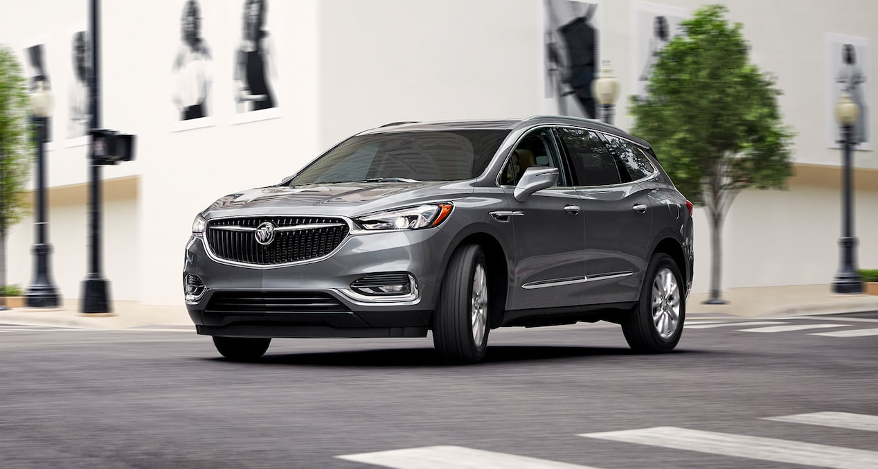 Image showing saftey features of the 2019 Buick Enclave mid size SUV