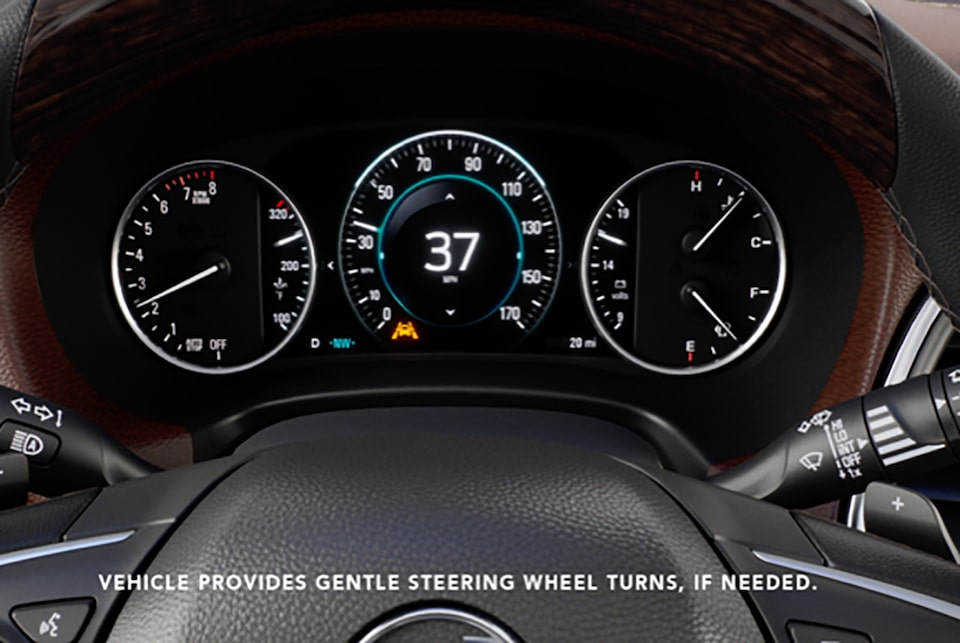 2019 Buick Enclave: Lane Keep Assist with Lane Departure Warning