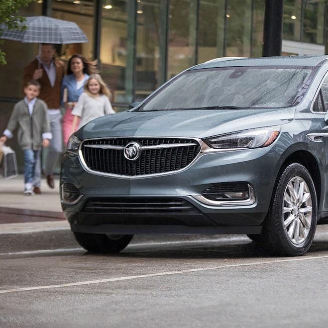 Exterior gallery image of the 2019 Buick Enclave mid-size SUV.