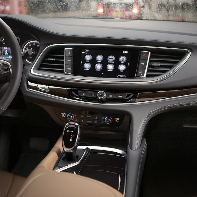 Interior gallery image of the 2019 Buick Enclave mid-size SUV.