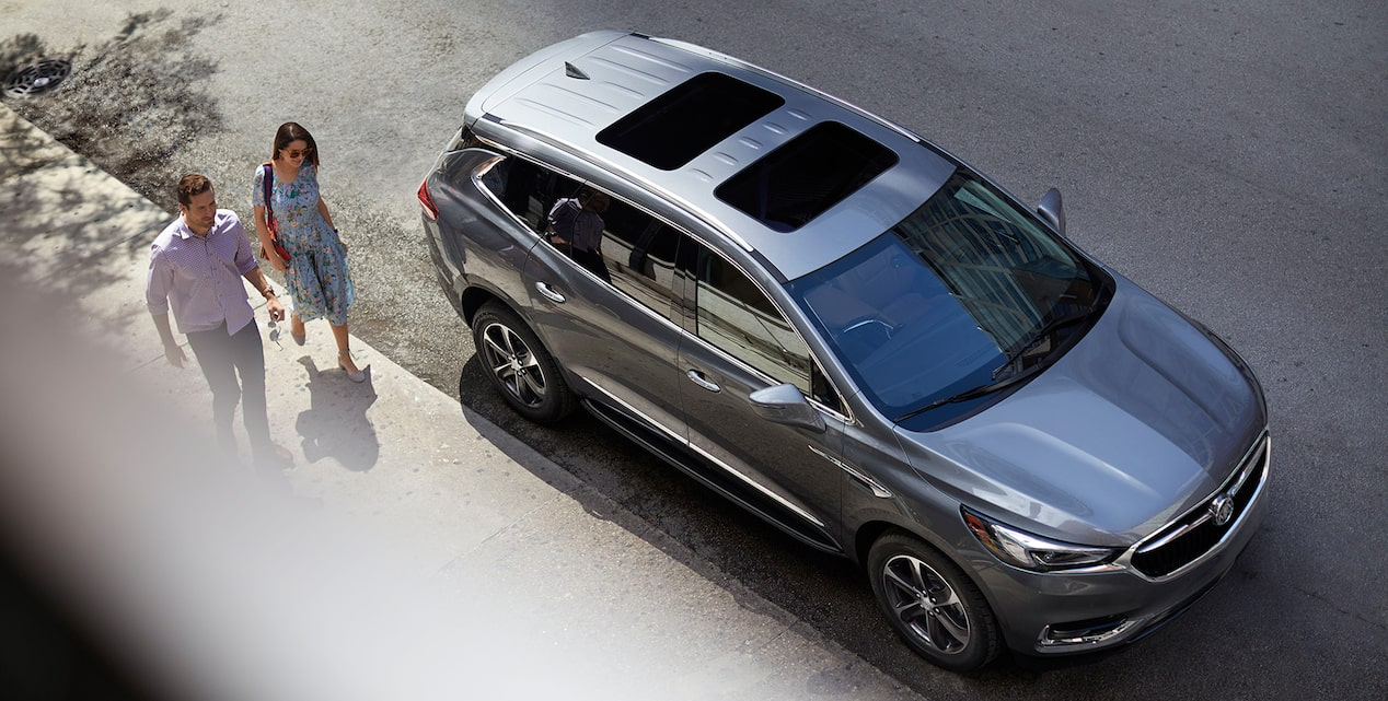 Image Showing Key Features Available For The 2019 Buick Enclave Mid Size Suv