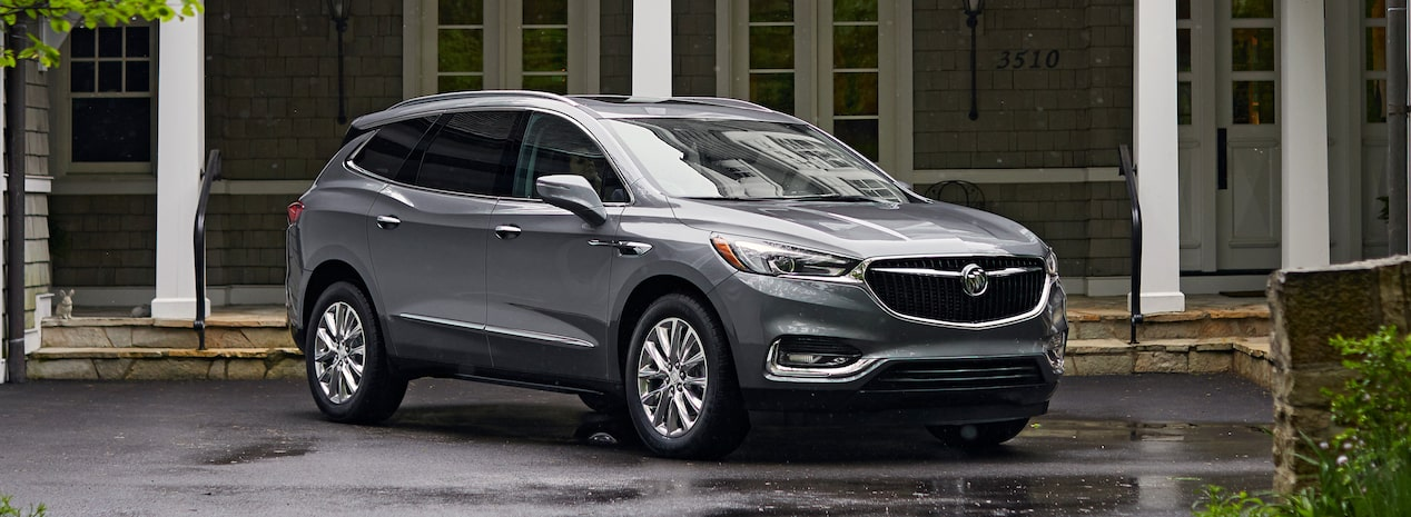 Masthead Image For The Model Details Page Featuring 2019 Buick Enclave Mid Size Suv