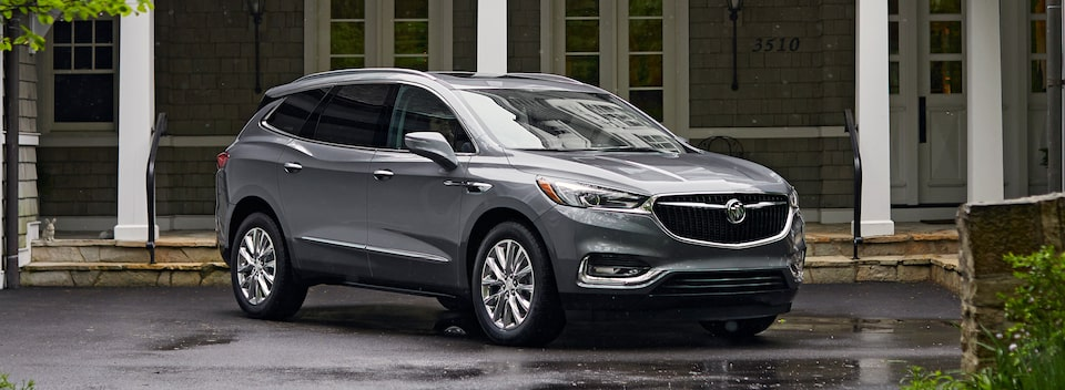 Masthead image for the model details page featuring the 2019 Buick Enclave mid-size SUV.