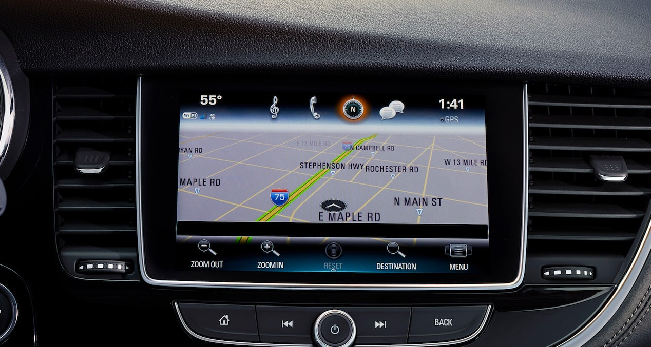 Image showing connectivity features of the 2019 Buick Encore small luxury SUV.
