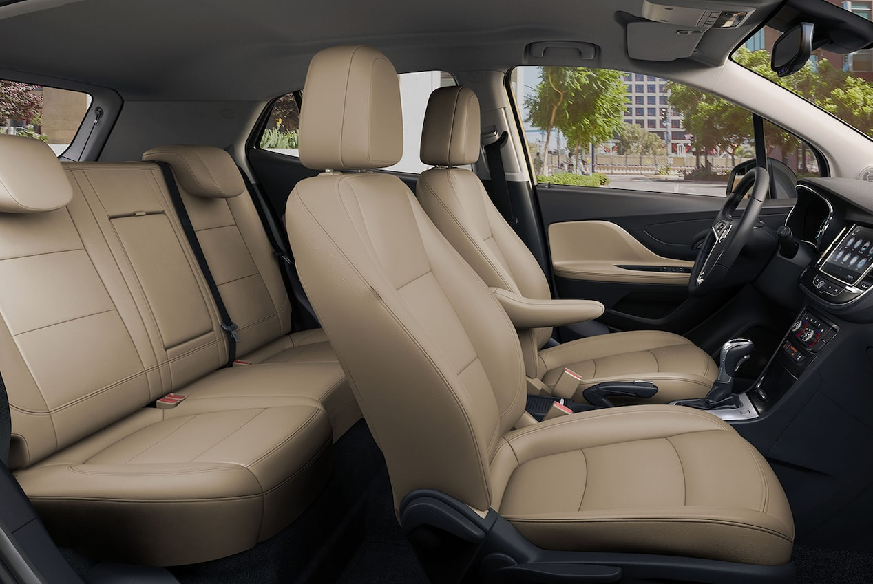 Image showing interior features of the 2019 Buick Encore small luxury SUV.