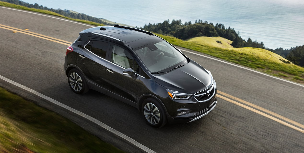 Image showing performance features of the 2019 Buick Encore small luxury SUV.