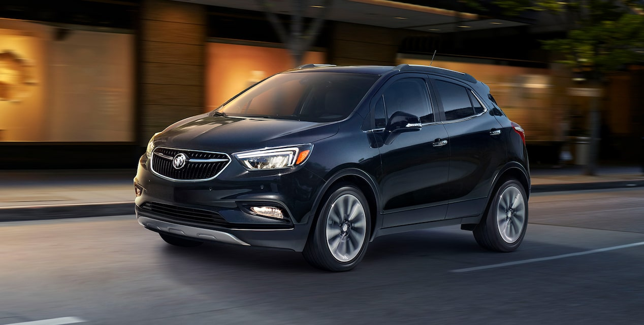 Image of the 2019 Buick Encore small luxury SUV.
