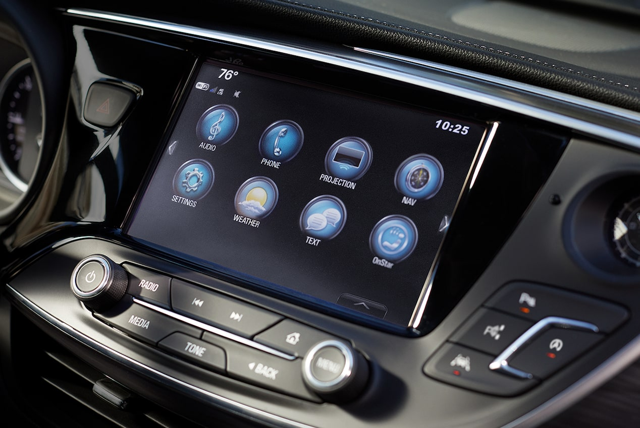 Image showing connectivity features of the 2019 Buick Envision compact luxury SUV.