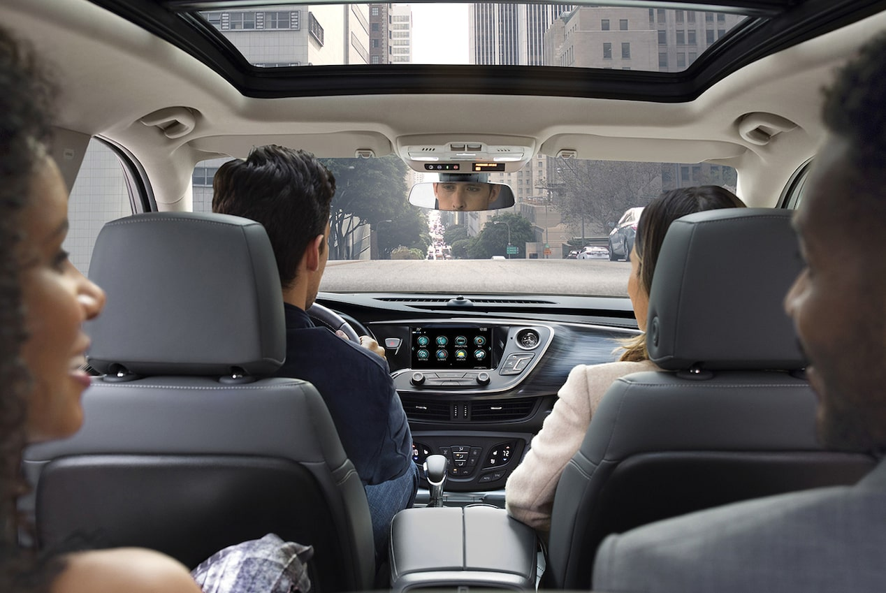 Image showing interior features of the 2019 Buick Envision compact luxury SUV.