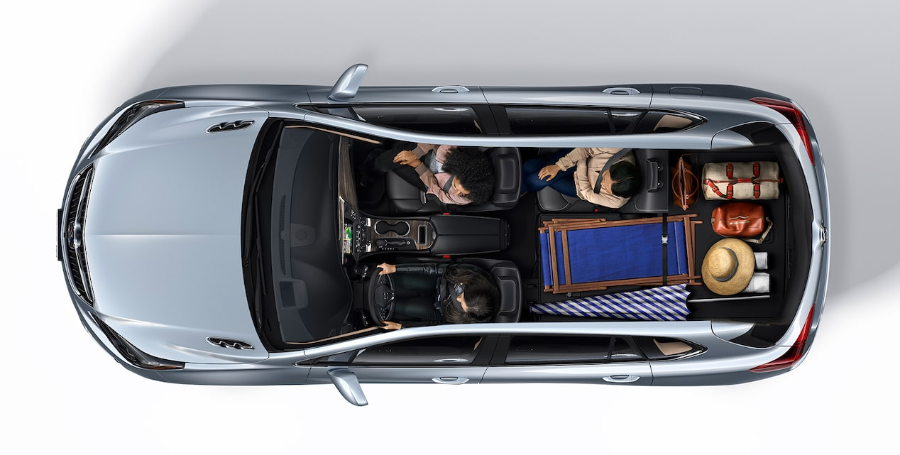 2019 Buick Envision Interior Seating and Cargo Space: Beach Trip