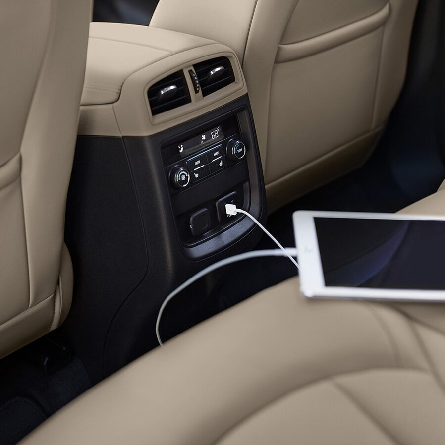 Interior Image Of The 2019 Buick Envision Compact Luxury SUV.