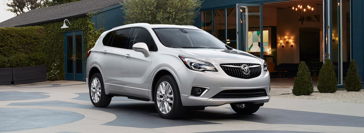 Masthead image showing the 2019 Buick Envision compact luxury SUV.