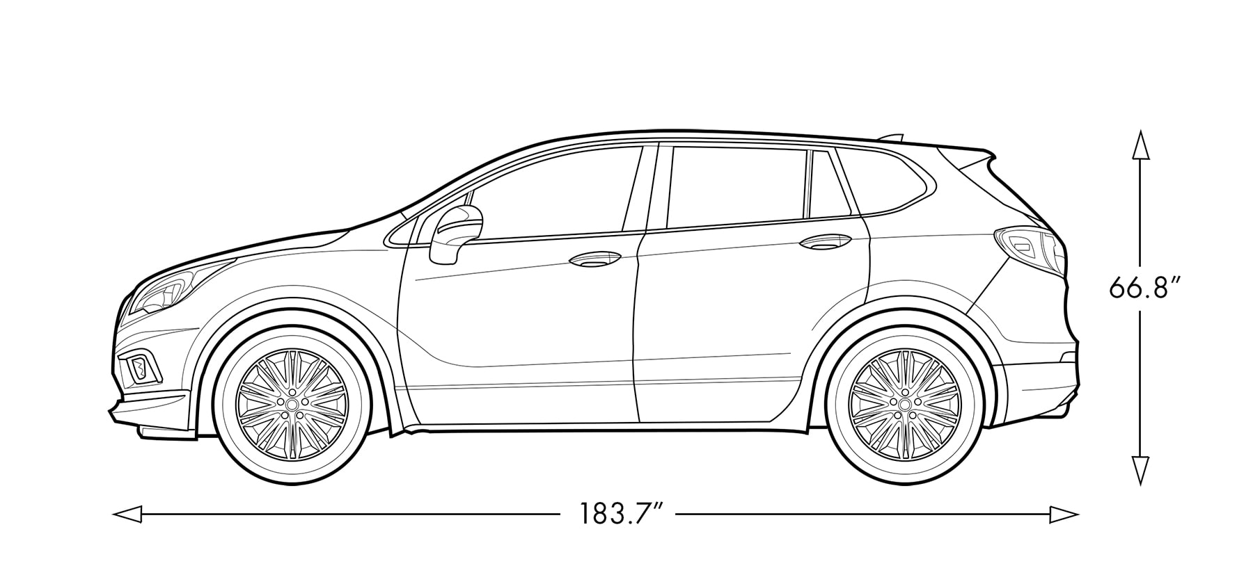 2019 Buick Envision Compact Luxury Suv Model Details 2008 Dodge 2 7 Liter Engine Diagram Image Of The